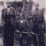 از راست : مشهدی آقا ،آقا جان یوسف و کل بابا منبع کتاب پرور دیار فراموش شده و شبکه های مجازی