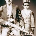 مشدی و پسرش حسین